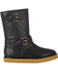 Stella McCartney Shearlinglined Harper Boots - Lyst
