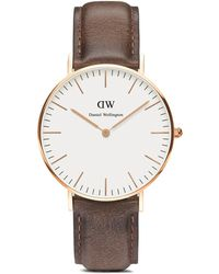 Daniel Wellington Classic Cardiff Watch, 36Mm brown - Lyst