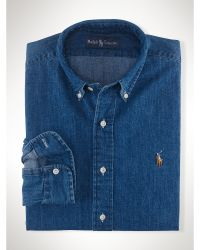 Polo Ralph Lauren Denim Sport Shirt - Lyst