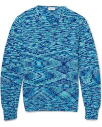 Façonnable - Chunky-Knit Cotton Jumper - Lyst
