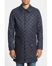 G-Star RAW Men'S 'Raw For The Oceans' Trench Coat - Lyst