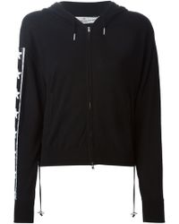 Golden Goose Deluxe Brand Star Panel Zipped Hoodie - Lyst
