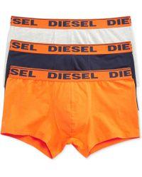 Diesel Mens Shawn Boxer Briefs 3-pack - Lyst