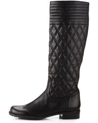 Stuart Weitzman Clute Quilted Boots - Lyst