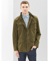 Gap Ripstop Fatigue Jacket - Lyst