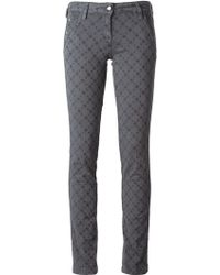 Jacob Cohen Printed Skinny Jeans - Lyst