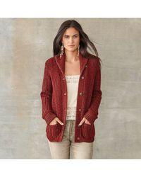 RRL - Shawl-collar Wool Cardigan - Lyst