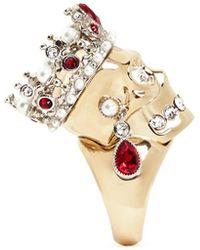 Alexander McQueen | Royal Skull Ring | Lyst