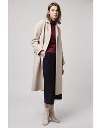 TOPSHOP - Sleeveless Fine-knit Jumper - Lyst