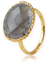 Argento Vivo Stone Ring - Lyst