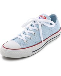 Converse Chuck Taylor All Star Sneakers - Fountain Blue/White blue - Lyst