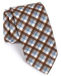 Maker & Company - Plaid Cotton & Silk Tie - Lyst