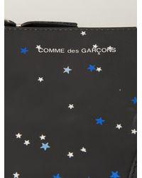 Comme Des Garçons Star Print Zip Purse - Lyst