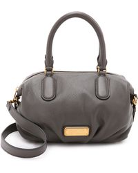 Marc By Marc Jacobs - New Q Small Legend Satchel - Faded Aluminum - Lyst