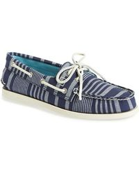 Sperry Top-Sider 'Authentic Original' Boat Shoe blue - Lyst