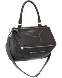 Givenchy Pandora 3d Medium Leather Satchel Bag - Lyst