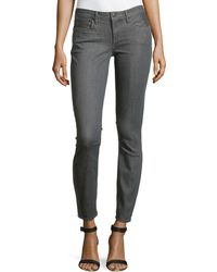 Helmut Lang Cropped Ankle Pants - Lyst