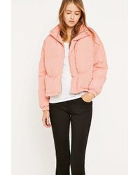 UNIF - Certa Quilted Pink Jacket - Lyst