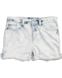 Madewell Denim Boyshorts in Light Storm - Lyst