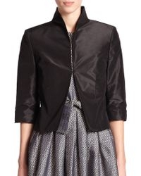 Pauw Silk Shirt Jacket - Lyst