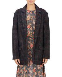 Etoile Isabel Marant Oversized Charly Jacket - Lyst
