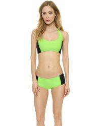 Y-3 - Light Flash Bikini Bottoms - Light Flash Green - Lyst