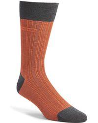 BOSS - 'paul' Stripe Socks - Lyst
