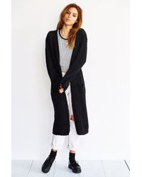 Cheap Monday Vain Maxi Cardigan - Lyst