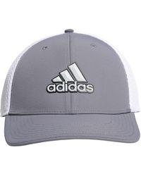 f8d1829d6a3 adidas - A-stretch Badge Of Sport Tour Golf Hat - Lyst