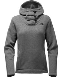 The North Face - Crescent Hooded Fleece Pullover - Lyst
