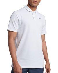 4b35b68e3 Nike Aeroreact Victory Men s Golf Polo Shirt in Blue for Men - Lyst