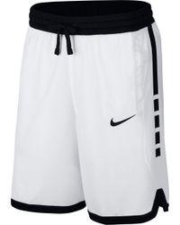 e5f8df69c9a8 Lyst - Nike  elite - Camo Stripe  Dri-fit Basketball Shorts in Gray ...