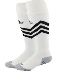a7a88f6ed adidas Team Speed Ii Soccer Otc Sock (black/white/light Onix) Crew Cut Socks  Shoes in Black for Men - Lyst