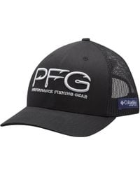 5aaa24ede0cc2 Lyst - Columbia Pfg Mesh Trucker Hat in Blue for Men