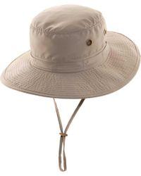 Dorfman Pacific - No Mesh Boonie Hat - Lyst