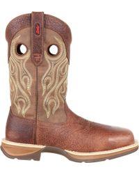 Durango - Rebel Waterproof Composite Toe Western Boots - Lyst