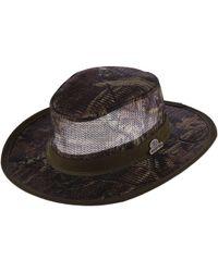 Dorfman Pacific - Mossy Oak Camo Mesh Safari Hat - Lyst