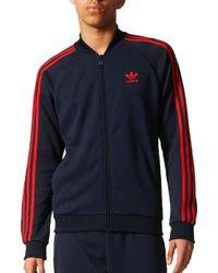adidas - Originals Superstar Track Jacket - Lyst