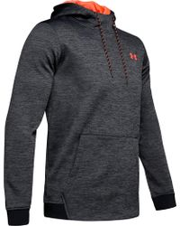 6cc44784c Under Armour Storm Armour Fleece Team Hoodie in Gray for Men - Lyst