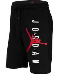 468dd9f4ab5c Lyst - Nike Air Jordan Shorts in Black for Men