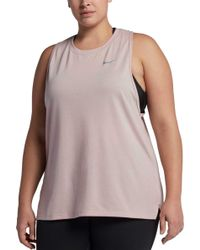 Nike - Plus Size Breathe Tailwind Running Tank Top - Lyst