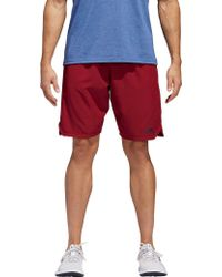 adidas - Axis Woven Training Shorts - Lyst