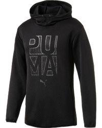 PUMA - Active Training Wintech Fleece Hoodie - Lyst