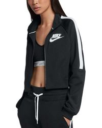 fa663500bfb1 Lyst - Nike Sportswear Rally Women s Jacket in Black