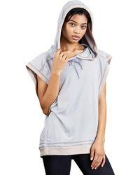 Zobha - Nigel Drop Shoulder Oversized Hoodie - Lyst