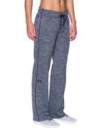 Under Armour - Lightweight Twist Print Armour Fleece Pants - Lyst