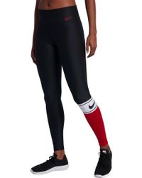 Nike - Power Colorblock Training Tights - Lyst