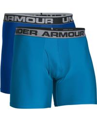 Under Armour - O Series 6'' Boxerjock Boxer Briefs 2 Pack - Lyst