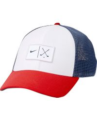 75c0661444a96 Lyst - Nike Classic99 Mesh Golf Hat in White for Men