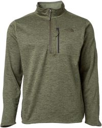 45d13260b9 Lyst - The North Face Canyonlands Sweat 1/2 Zip In Navy Marl in Blue ...